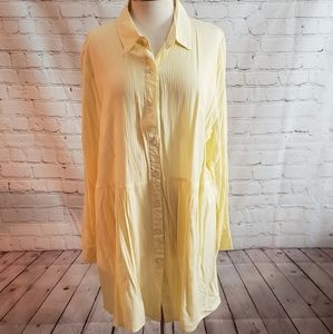 Solitaire Tunic Blouse Sz 3X NWT